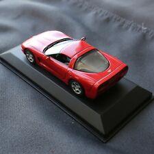 Pre-Owned Minichamps 1/43 Chevrolet Corvette 1997 C5 Red