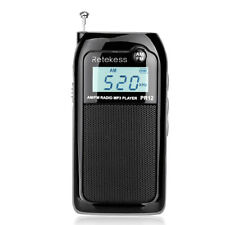 New Pocket FM/AM Digital Tuning Radio MP3 Music Player with Rechargeable Battery