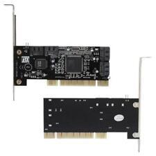 16X PCI a 4 puertos SATA 5 Gbps Sil3114 SATA de la tarjeta vertical PCI 4 puertos tarjeta de expansión
