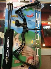 Diamond Atomic Compound Bow Package Youth - Black
