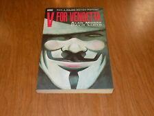 V For Vendetta (Tpb) By Alan Moore & David Lloyd, (r- #1 - #10 complete) Vertigo