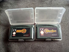 LOTE GBA GAMEBOY ADVANCE GOLDEN SUN 1 & GOLDEN SUN 2 (LA EDAD PERDIDA)