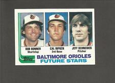 1982 TOPPS #21 CAL RIPKEN JR ROOKIE RC BALTIMORE ORIOLES FUTURE STARS NICE!