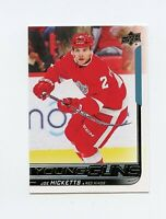 18/19 UPPER DECK YOUNG GUNS ROOKIE RC #469 JOE HICKETTS RED WINGS *61275