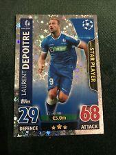 KAA Gent Depoitre UEFA Champions League 15/16 Match Attax Football Card
