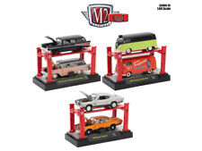 AUTO LIFT SERIES 16, SET OF 6 CARS 1/64 DIECAST MODELS BY M2 MACHINES 33000-16