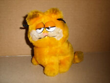 "Dakin Garfield Nutshell Filled Plush Stuffed Toy Doll 5"" Vintage 1981"