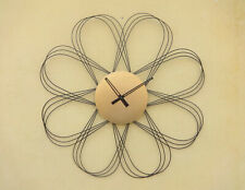 Star Of India Antique Copper Decorative Roman Iron Metal Wall Clock