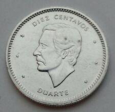 Dominican Republic 10 Diez Centavos 1987. KM#60. Ten Cents coin. Dime. Duarte.