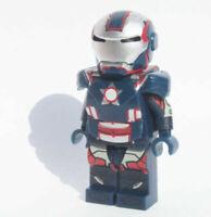 Custom - Iron Patriot - Marvel Super heroes minifigures on lego bricks