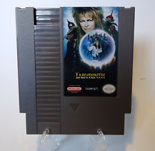 Labyrinth Nintendo NES English Cart David Bowie, Ships From USA, Tested!