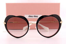 Brand New Miu Miu Sunglasses MU 54R 54RS 1AB 4K0 Black/Grey For Women