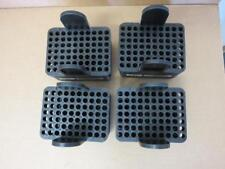 Sorvall Centrifuge Rotor Swing Bucket Adapters 00839 Black 70-Place Lot of 4