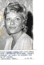 Photo SOPHIE DAREL actrice française /originale/presse argentique/années 70