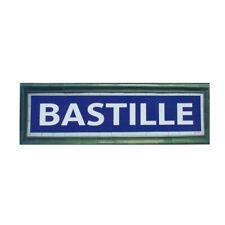 Plaque Métro Bastille