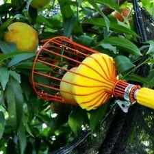 Stainless Steel Deep Fruit Picker Basket Convenient Gardening Fruit Pick Tools