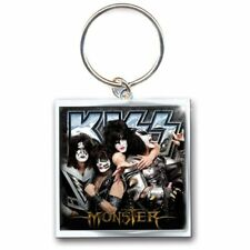 KISS Band Picture Monster Image Album Cover Metal Keychain Keyring Fan Official