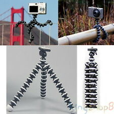 Black Mini Flexible Tripod Octopus Stand Gorilla Pod For Gopro Camera/SLR/DV Hot