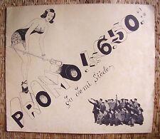 ECOLE NATIONALE HORLOGERIE CLUSES / LIVRET SATIRIQUE DE FIN DE PROMO 1946 / 1950