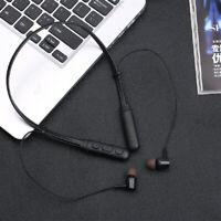 Sport Wireless Bluetooth Headphone Stereo Bass Earphone Neckband Running Headset