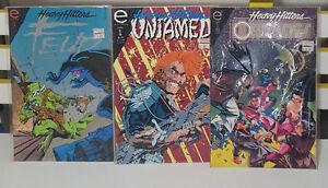 EPIC COMICS 3 HEAVY HITTERS #1 COMICS! FEUD UNTAMED OFFCASTS COMICS!