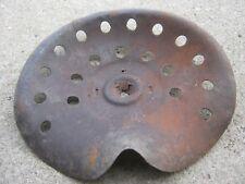 Primitive Original Antique Rustic Rusty Tractor Seat Implement