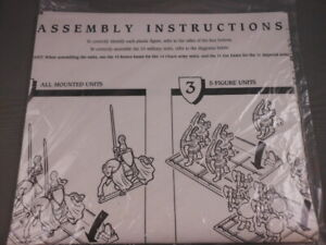 REPLACEMENT PART ONLY Assembly Instructions Paper Vtg Milton Bradley
