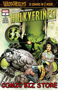 HULKVERINES #2 (OF 3) (2019) 1ST PRINT LAND & D'ARMATA MAIN COVER MARVEL($4.99)