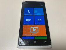 Nokia Lumia 900 - 16GB - White (AT&T) Cracked Screen - Parts - Grade E