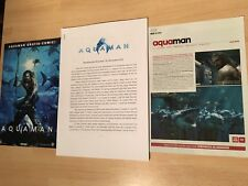Aquaman press kit Mamoa Heard + Bonus / Batman, Superman, No poster