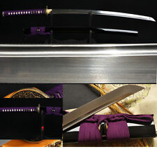 Oil Quenched Handforged Katana Japanese Samurai Sword Damascus Steel Full Tang
