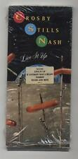 Crosby Stills Nash - Live It Up- Cd ~ Empty Longbox ~ No Cd - Long Box Empty Csn