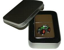 Fendt 939 Tractor Lighter Enamel Badge NO FUEL INC Smoking Gift in Tin Farming