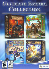 Ultimate Empire Collection PC 4 strategy GAMES + RETAIL BOX + FREE SHIPPING