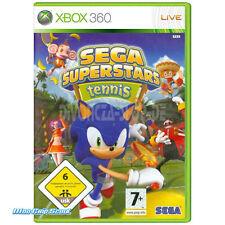 Xbox 360 Sega superestrellas tenis + Arcade Compilation Disk-nuevo + embalaje original
