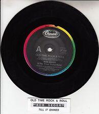 "BOB SEGER  Old Time Rock & Roll  7"" 45 rpm vinyl record + juke box title strip"