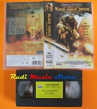 film VHS BLACK HAWK DOWN J. Harnett Ridley Scott Columbia Tristar  (F129) no dvd