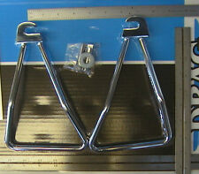 58-86 Panhead Shovelhead SADDLEBAG SUPPORT BRACKETS for Throw-Over Bags