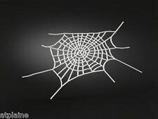 Sticker relief 3D WEB SPIDER chromé (2) - Style BIKER HARLEY