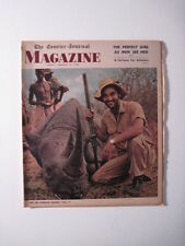Louisville Courier Journal Magazine 1963. African Safari! George Bagby!