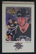 MARIO LEMIEUX 1993 Legends Artwork Postcard #12 Cover 31 _ MAIL WORLDWIDE