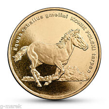 2 PLN - Animals of the World – Polish konik horse  - 2014