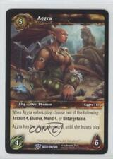 2012 World of Warcraft TCG: Tomb the Forgotten Booster Pack Base #161 Aggra 2ic