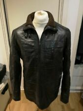 Unbranded Men's Faux Leather Outer Shell