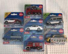 Siku German Diecast Cars Lot of 7 NIB Rare Fire Truck etc