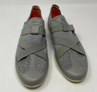 ECCO Gray Flats Shoes Women Size 39 US 8-8.5
