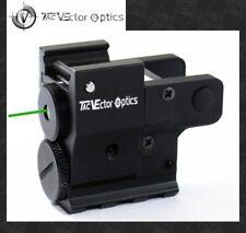 Vector Optics Twilight Compact Tactical Pistol Green Laser Dot Sight fit 20mm