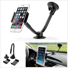 Universal Long Arm Auto Car Phone Tablet Support Mount Holder for iPhone Sumsang