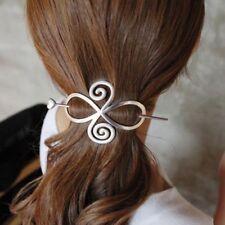 Gold Stick Shawl Pin Hair Accessories Long Hair Slide Clip Bun Holder Hairpin