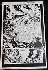 UNDERWORLD UNLEASHED #3 PG 5 1995 ORIGINAL ART SPLASH-HOWARD PORTER-WONDER WOMAN Comic Art